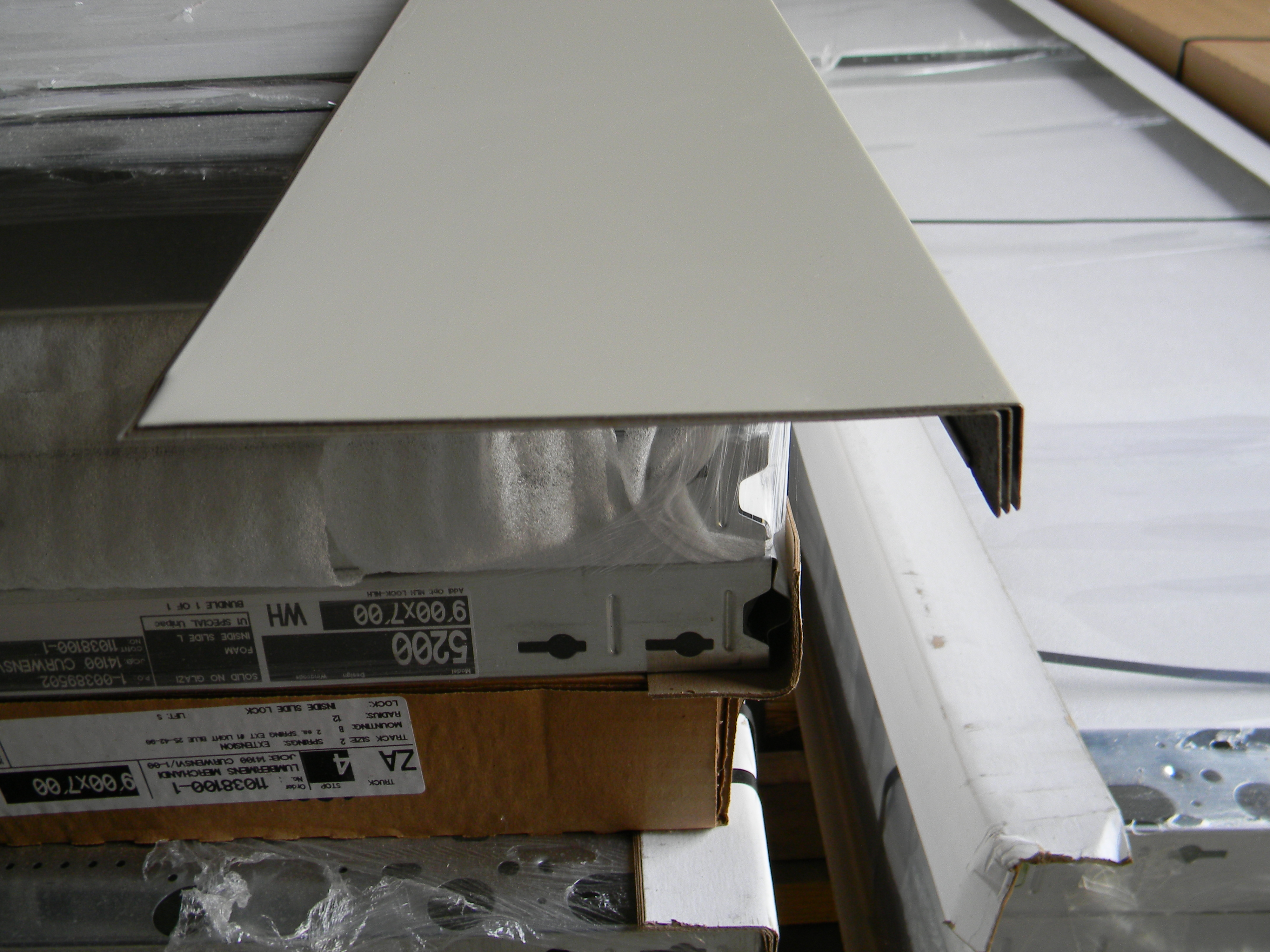 Desert Tan 6 X 12 Aluminum Fascia 4 95 Per Piece
