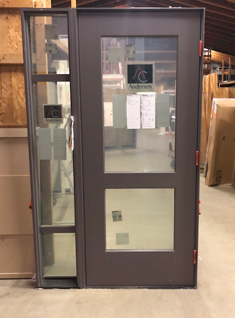 Eagle 30 X 70 Mystic Gray Aluminum Clad Exterior Door With